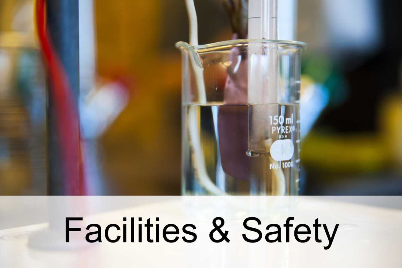 Link to Facilities and Safety Policies (Environmental Health & Safety, Public Safety, Facilities Operations)